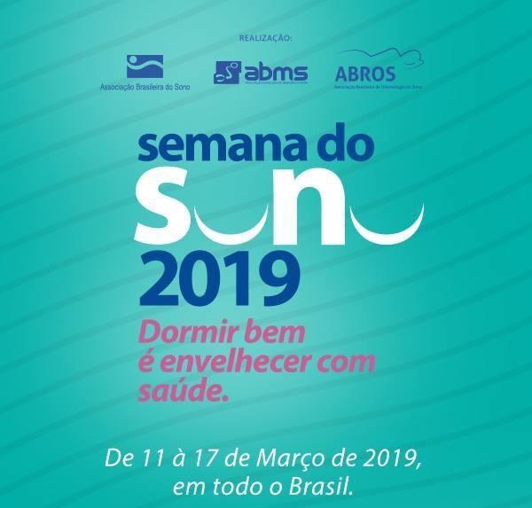 Semana do Sono 2019