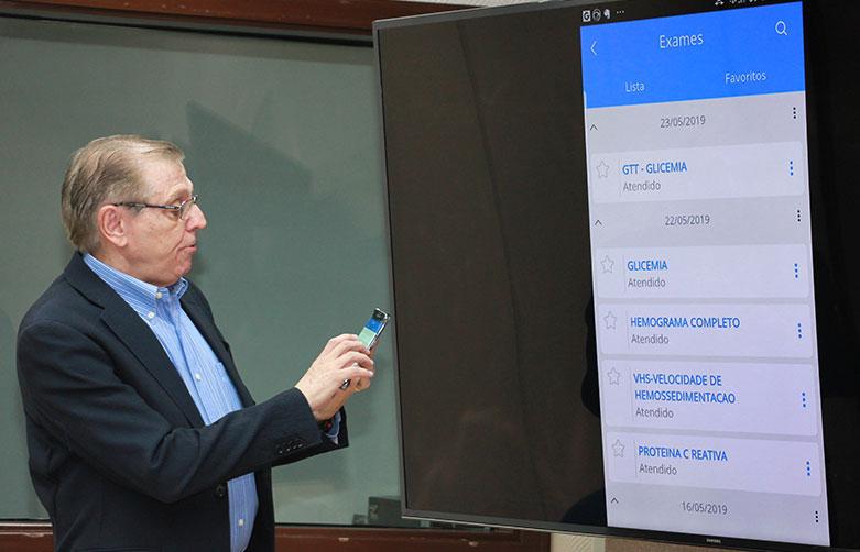 HC lança aplicativo para quase 700 mil pacientes