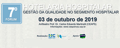 (Português do Brasil) 7º Fórum de Hotelaria Hospitalar HCFMRP-USP
