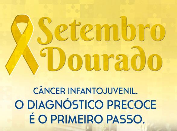 Setembro Dourado é o mês de conscientização do câncer infantojuvenil